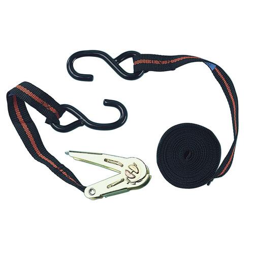 Ratchet tie down strap - 450+50 cm