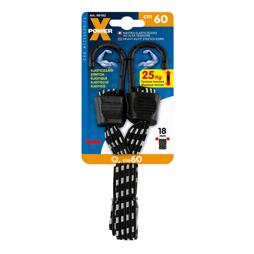 X-Power, heavy duty stretch cord - 60 cm 5