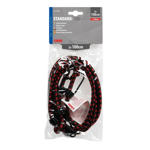 Standard elastic cords - Ø 10 mm - 2x100 cm