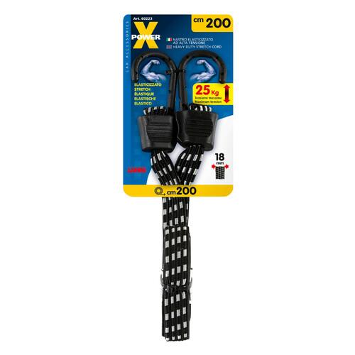 X-Power, heavy duty stretch cord - 200 cm 1