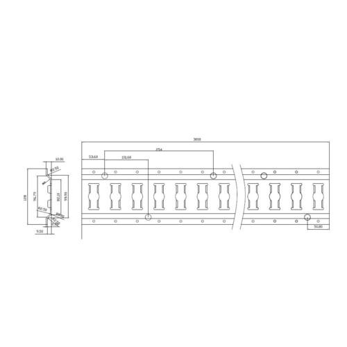 Track bar interlocking fitting 2