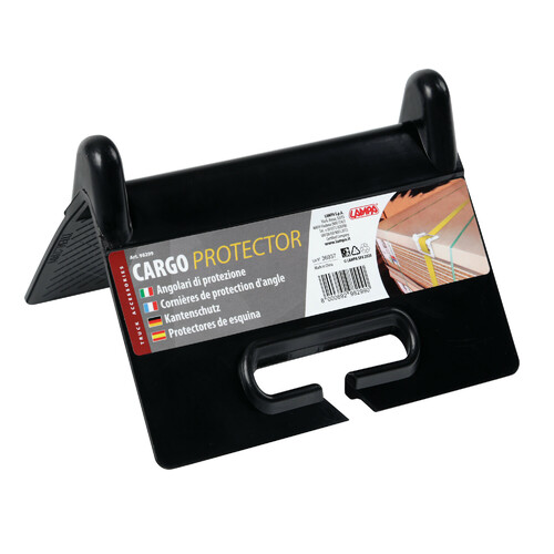 Plastic corner protector for cargo lashing strap 3