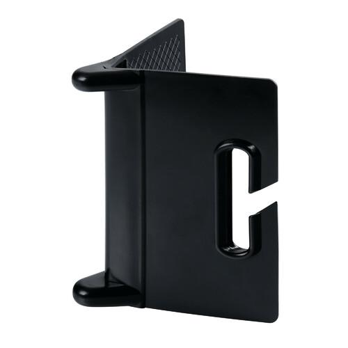 Plastic corner protector for cargo lashing strap 1