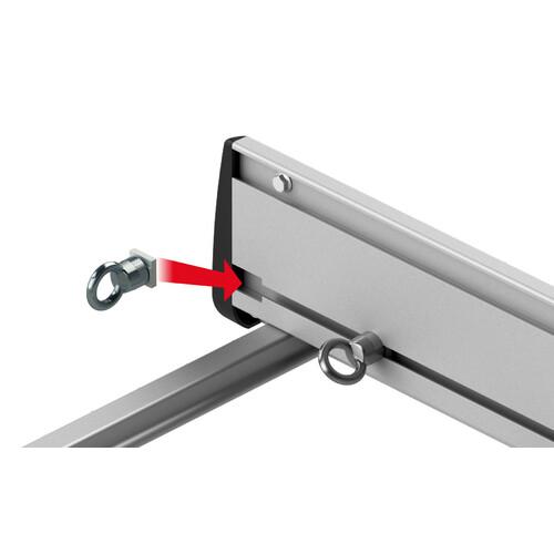 Kargo Rack System - Coppia fianchetti h 12 cm - 120 cm 1