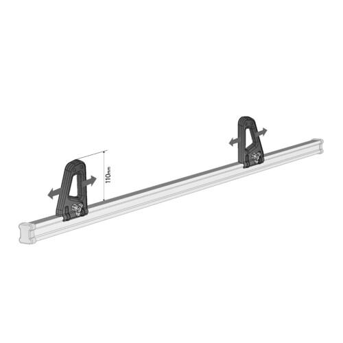 K-1, pair of load stops - 11 cm 2