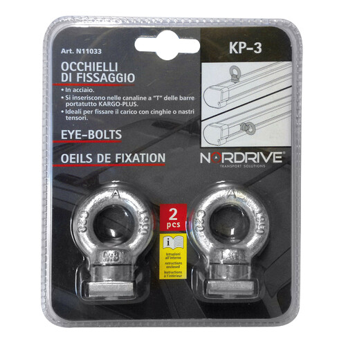 KP-3, pair of eye-bolts 3