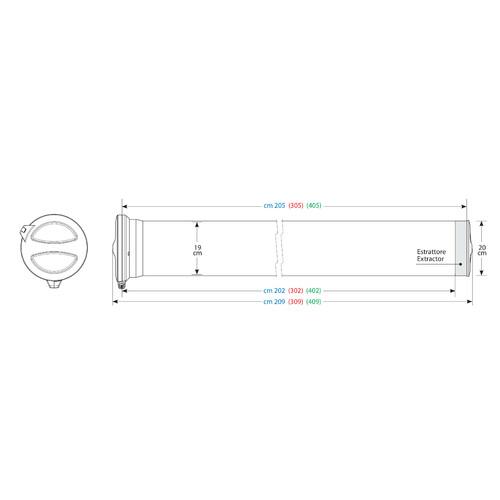 T300, Kargo-Tube, 3 brackets - 305 cm 4