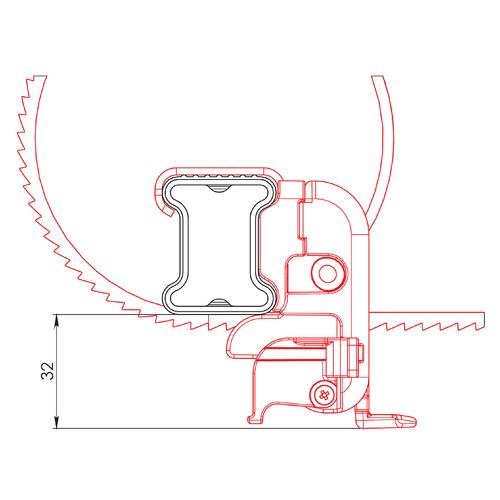 U-5, Ladder stopper belt (pair) 3