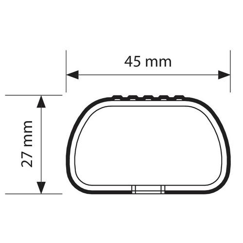 Club, coppia barre portatutto in acciaio - L - 127 cm 2