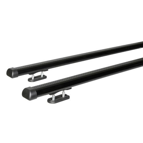 Club, coppia barre portatutto in acciaio - L - 127 cm 1