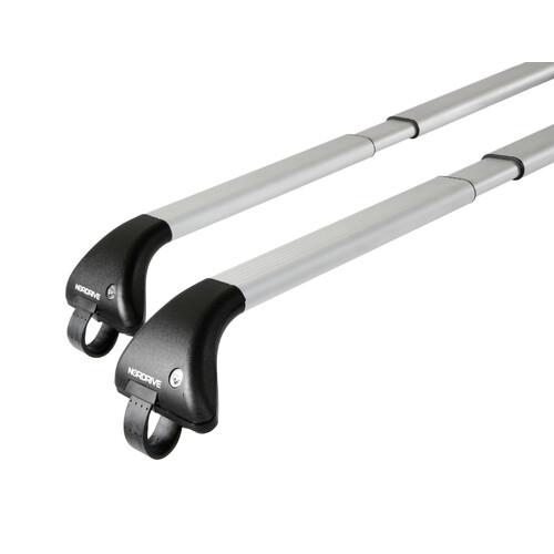 Snap-Fit Alu, coppia barre portatutto telescopiche in alluminio - Mis. 2 - 100÷136 cm 1