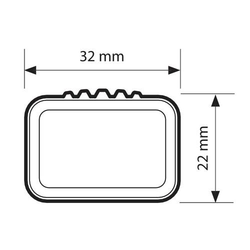 Quadra, coppia barre portatutto in acciaio - L - 127 cm 2