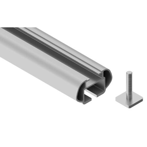 Alumia, pair of aluminium roof bars - S - 108 cm 3