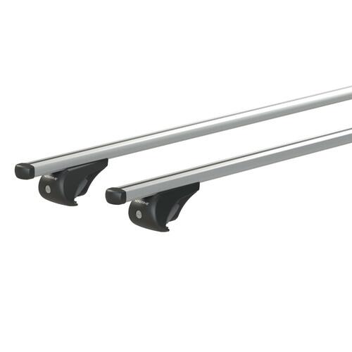 Yuro, coppia barre portatutto in alluminio - S - 108 cm 1