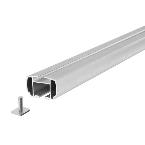 Yuro, coppia barre portatutto in alluminio - S - 108 cm 2