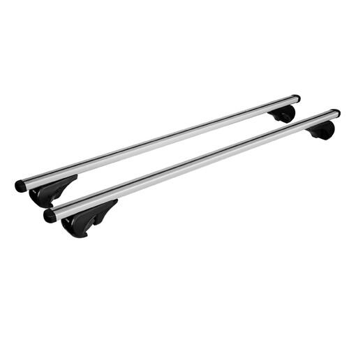 Yuro, coppia barre portatutto in alluminio - XL - 140 cm