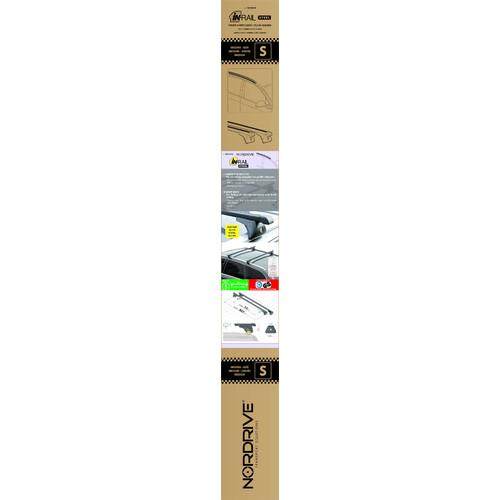 In-Rail Steel, steel roof bars, 2 pcs - S - 108 cm 7