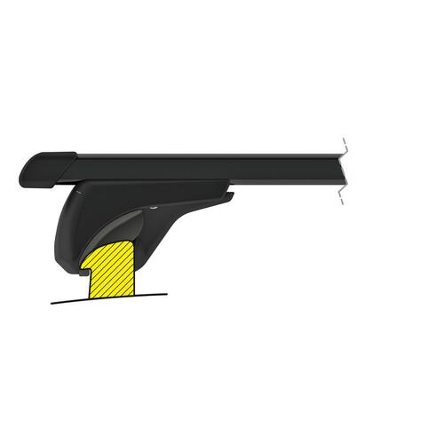 In-Rail Steel, steel roof bars, 2 pcs - S - 108 cm 5