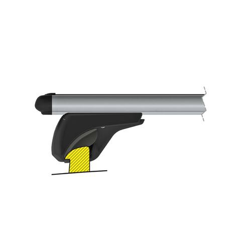 In-Rail Alu, aluminium roof bars, 2 pcs - S - 108 cm 6