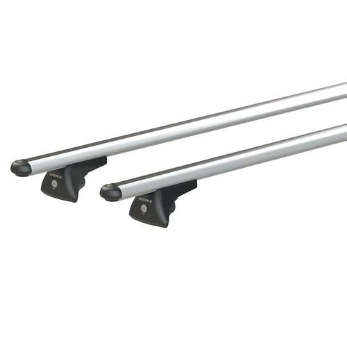 In-Rail Alu, aluminium roof bars, 2 pcs - S - 108 cm 1