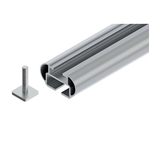In-Rail Alu, aluminium roof bars, 2 pcs - S - 108 cm 2