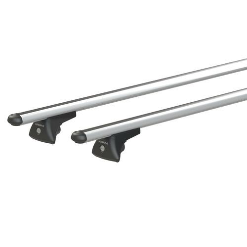 In-Rail Alu, aluminium roof bars, 2 pcs - M - 120 cm 1