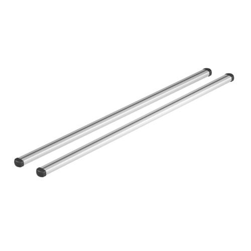 Helio, coppia barre portatutto in alluminio - M - 120 cm