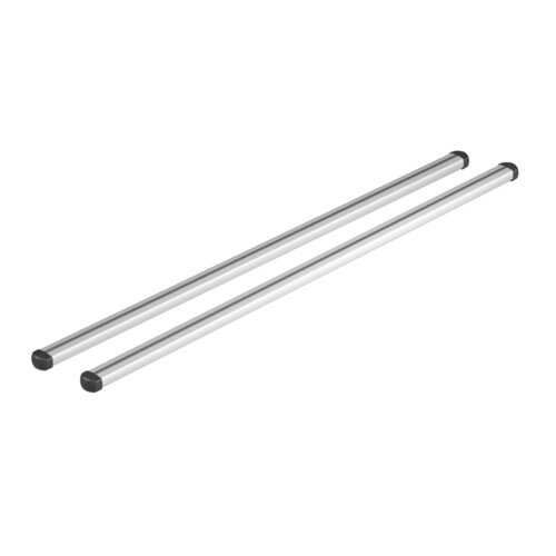 Helio, coppia barre portatutto in alluminio - XL - 140 cm