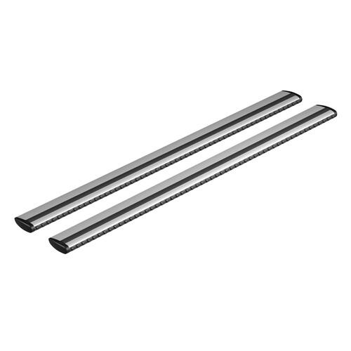 Silenzio, coppia barre portatutto in alluminio - S - 108 cm