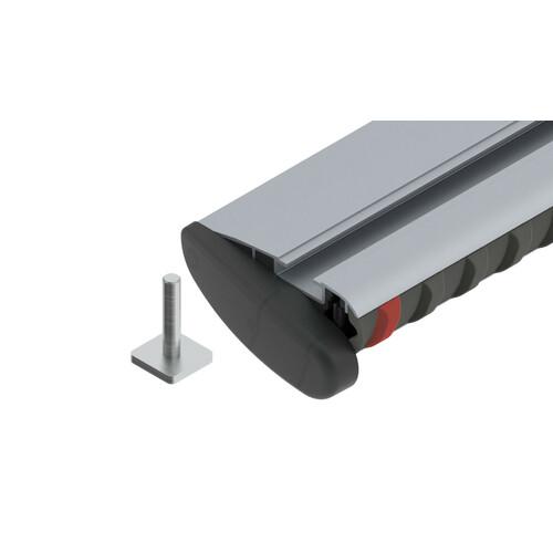 Silenzio, coppia barre portatutto in alluminio - S - 108 cm 1
