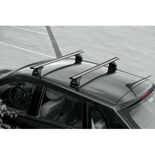 Silenzio, pair of aluminium roof bars - L - 128 cm 5