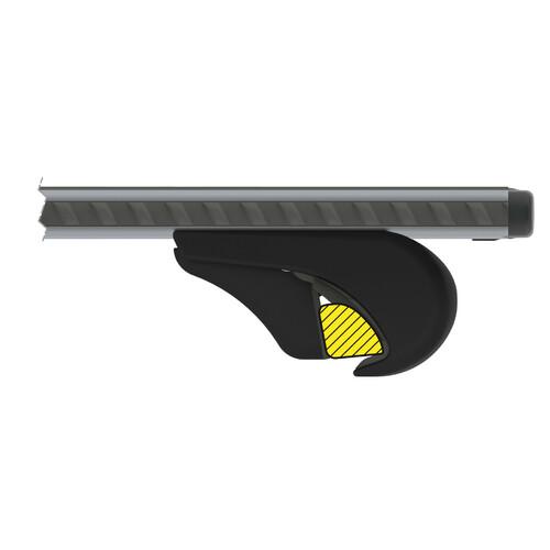 Silenzio Rail, coppia barre portatutto in alluminio - S - 108 cm 5