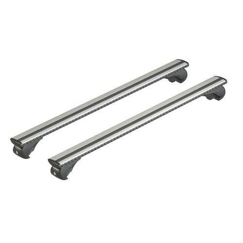 Silenzio Rail, coppia barre portatutto in alluminio - S - 108 cm