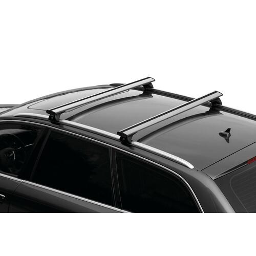 Silenzio In-Rail, pair of aluminium roof bars - S - 108 cm 2