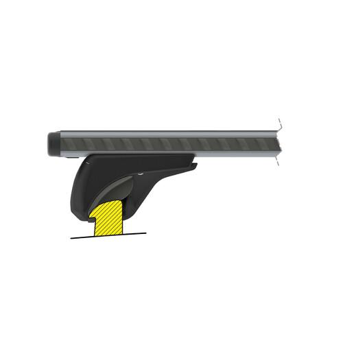 Silenzio In-Rail, pair of aluminium roof bars - S - 108 cm 3
