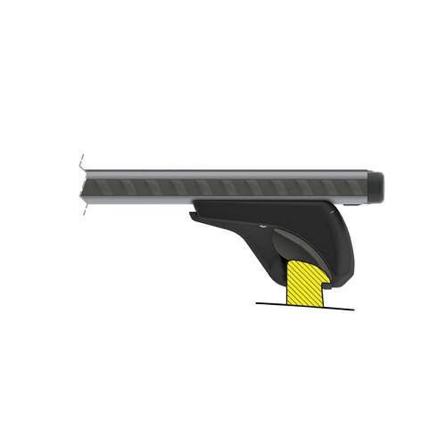 Silenzio In-Rail, pair of aluminium roof bars - S - 108 cm 5