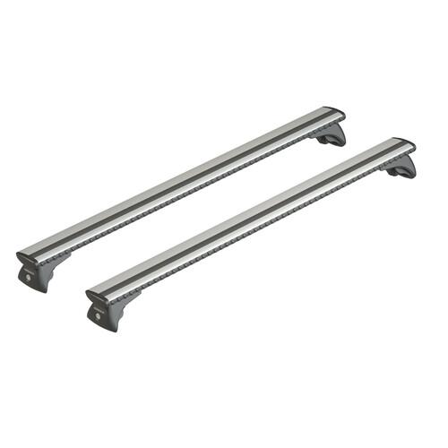 Silenzio In-Rail, pair of aluminium roof bars - M - 120 cm