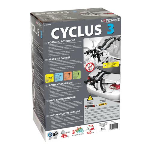 Cyclus 3, rear bike carrier 8