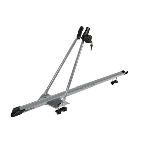 Bike-One, porta bicicletta in acciaio - Grigio 1