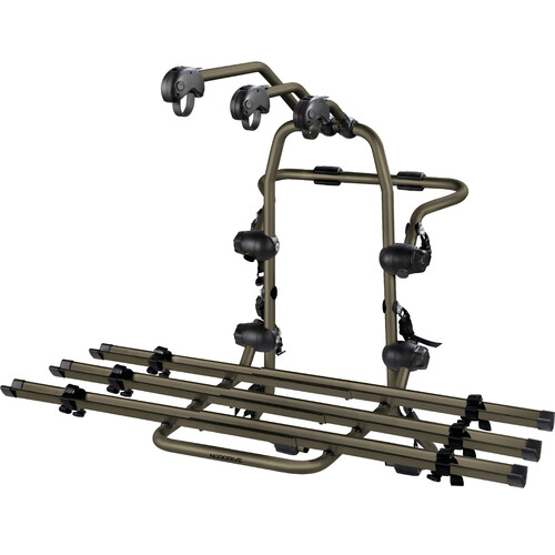 PORTABICI POSTERIORE UNIVERSALE BICYCLE CARRIER NERO BLACK NORDRIVE N50010