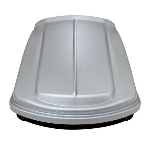 Box 330, box tetto in ABS, 330 litri - Grigio goffrato 1