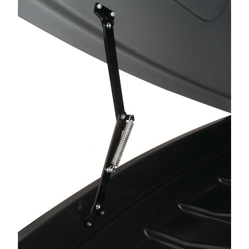 Box 330, box tetto in ABS, 330 litri - Grigio goffrato 4