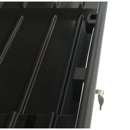 Box 330, box tetto in ABS, 330 litri - Grigio goffrato 5
