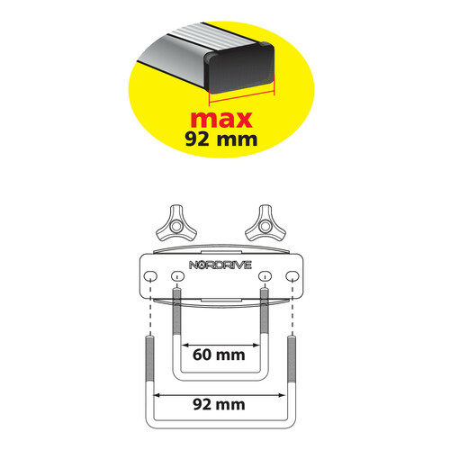 Ricambio kit fissaggio standard 1