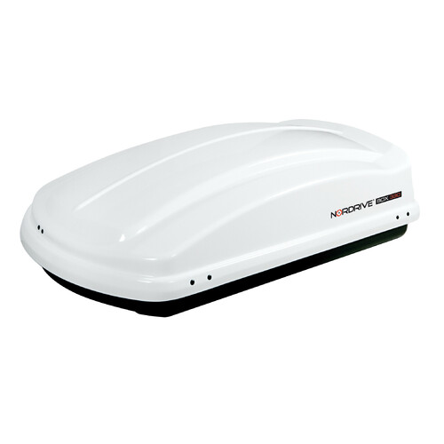 Box 330, ABS roof box, 330 ltrs - Shiny White