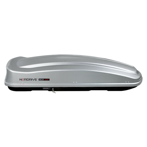 Box 430, ABS roof box, 430 ltrs - Embossed Grey 2
