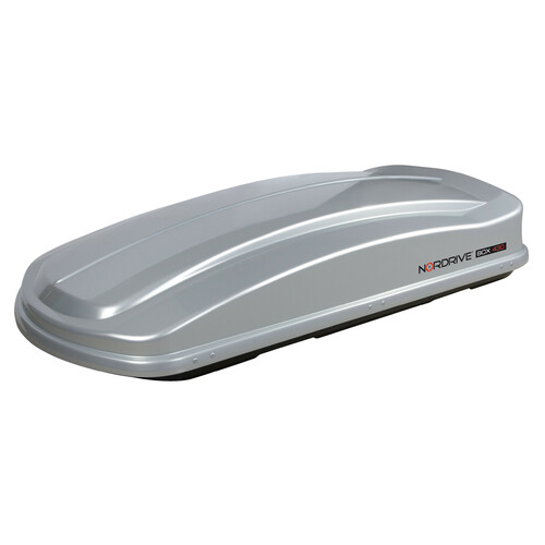 Box 430, ABS roof box, 430 ltrs - Shiny Silver