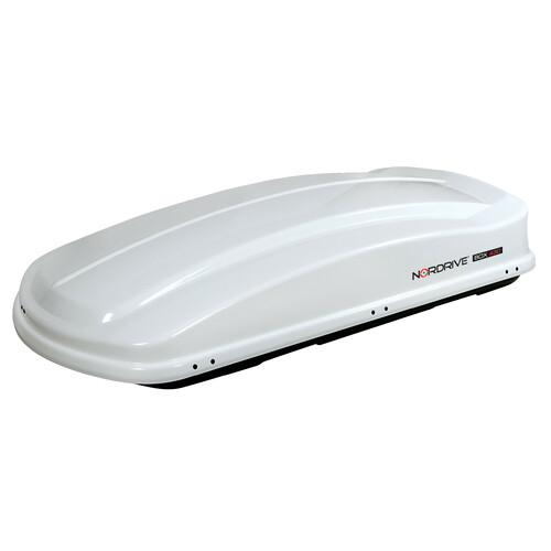 Box 430, ABS roof box, 430 ltrs - Shiny White