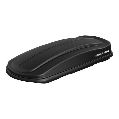 Box 530, ABS roof box, 530 ltrs - Embossed black