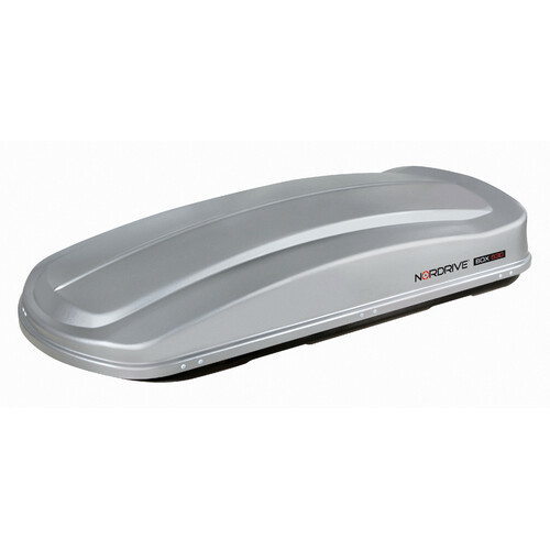 Box 530, ABS roof box, 530 ltrs - Embossed Grey